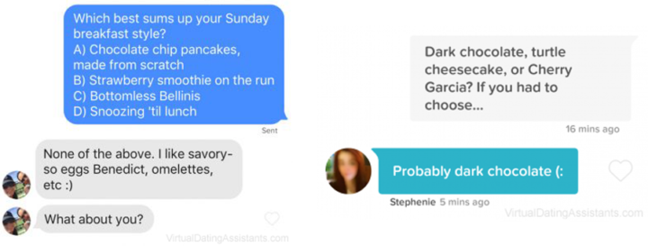 examples of tinder conversation starters