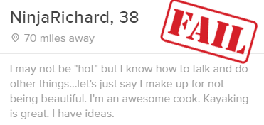 bad tinder example