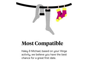 What is the Hinge Most Compatible feature?
