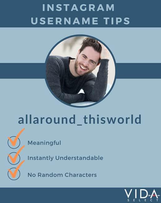 Instagram Username Tips