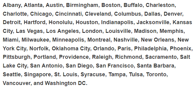 The League cities