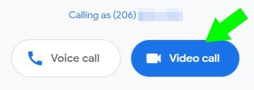 Duo Web video call