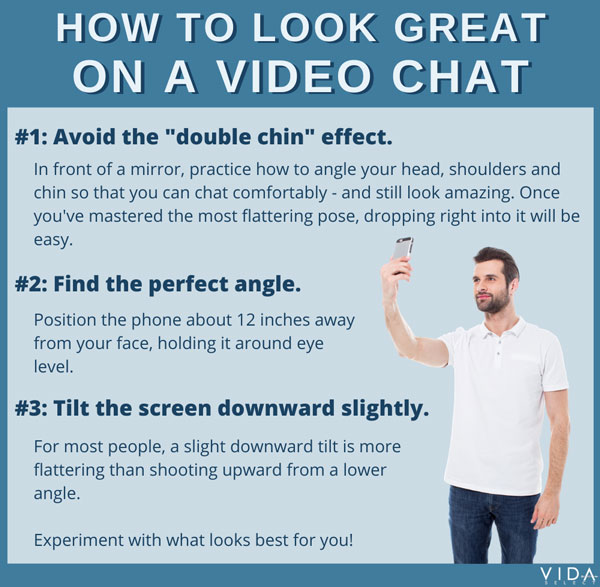 How to look great on a video chat