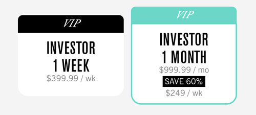 League Investor Cost