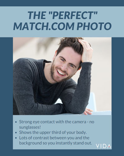 Choose the best photo for your Match profile
