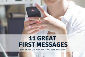 Great first message examples